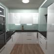 3D návrh - Kuchyň 8