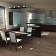 3D návrh - Kuchyň 6
