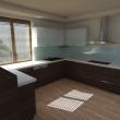 3D návrh - Kuchyň 4